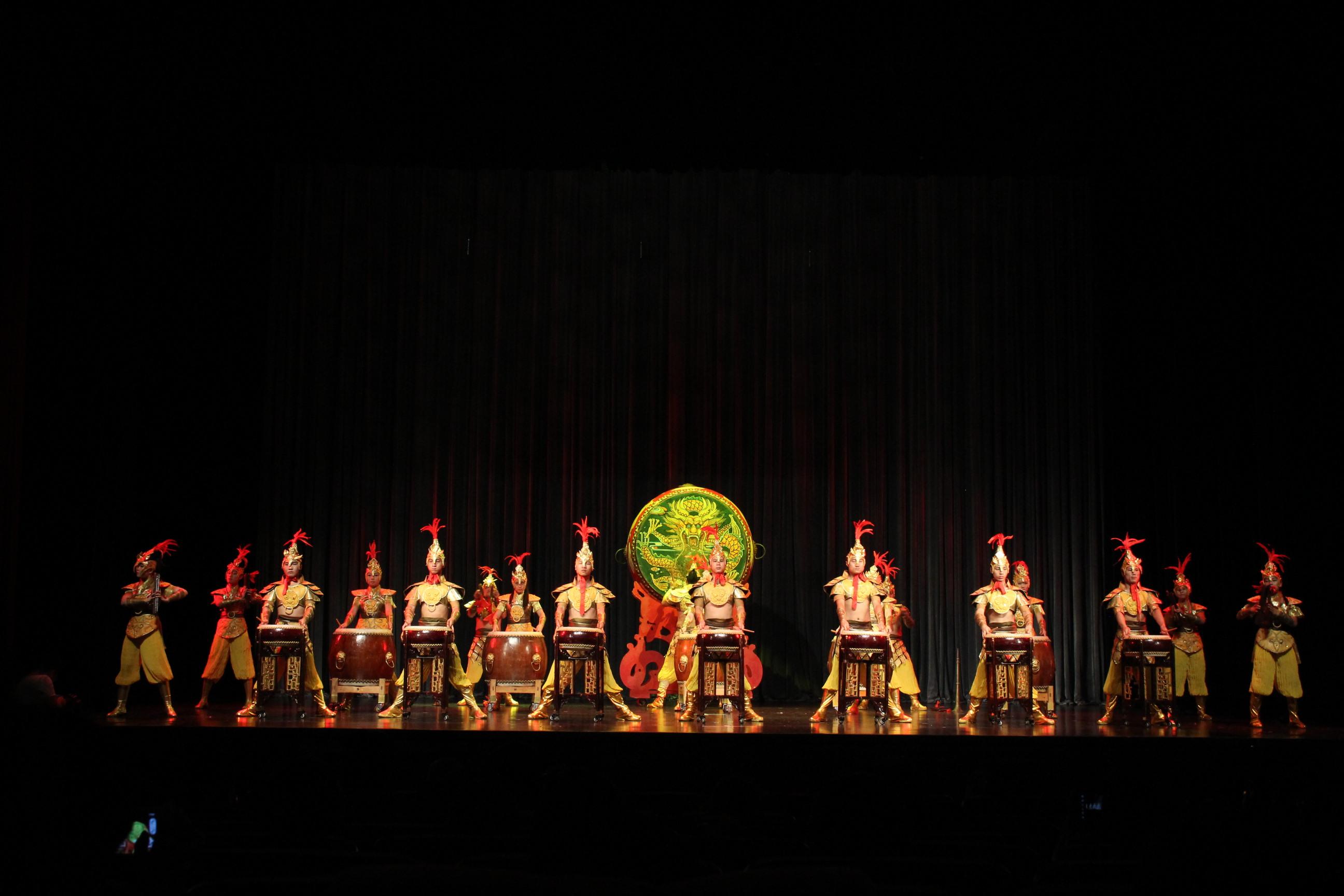 高雅艺术进校园:《鼓起中国梦》专场音乐会(11月1日)