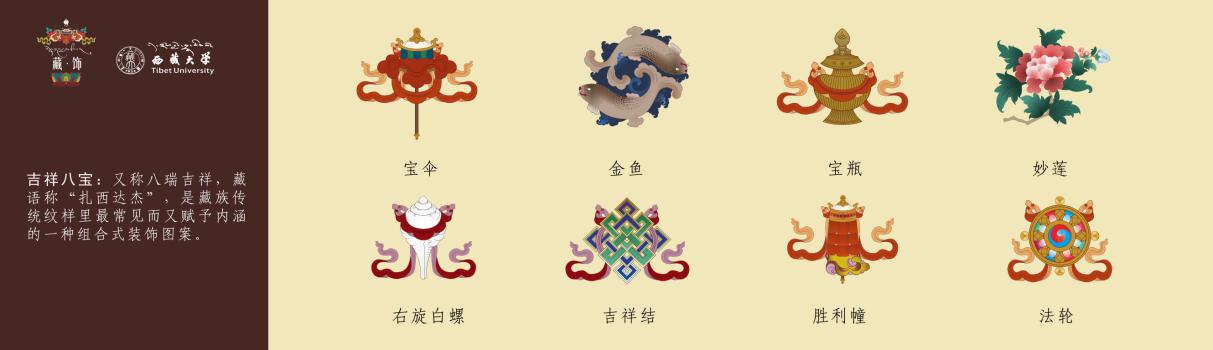 藏族传统花纹图案